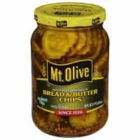 Mt. Olive Old-Fashioned Sweet Bread & Butter Pickle Chips
