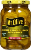 Mt. Olive Kosher Hamburger Dill Pickle Chips