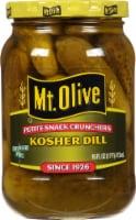 Mt. Olive Petite Snack Crunchers Kosher Dill Pickles
