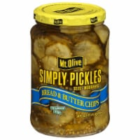 Mt. Olive Simply Pickles Bread & Butter Chips