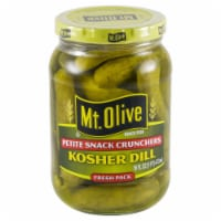 Mt. Olive Petite Snack Crunches Kosher Dill Pickles