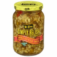 Mt. Olive Deli Style Dill Relish with Sea Salt