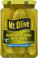 Mt. Olive Kosher Dill Spears with Sea Salt
