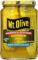 Mt. Olive Sandwich Stuffers Kosher Dill Spears with Sea Salt