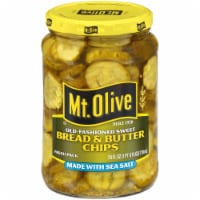 Mt Olive Bread & Butter Chips with Sea Salt