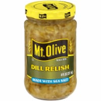 Mt. Olive Dill Relish with Sea Salt