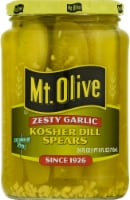 Mt. Olive Zesty Garlic Kosher Pickle Spears