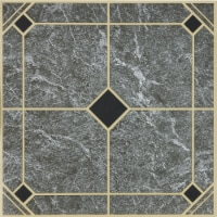Home Impressions Blue and Gold 12 In. x 12 In. Vinyl Floor Tile (45 Sq. Ft./Box) - 1