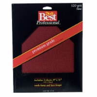 Do it Best Premium Plus 9 In. x 11 In. 120 Grit Fine Sandpaper (3-Pack) 7263-004 - 1