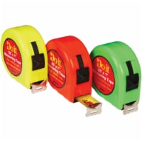 Do it 25 Ft. Neon Tape Measure Display 337576 Pack of 12 - 12