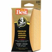 Do it Best Angled 2-1/2 In. x 5 In. x 1 In. 220 Grit Fine Sanding Sponge