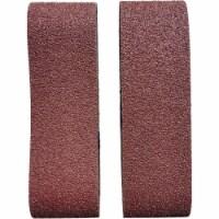 3 In. x 21 In. 50 Grit Heavy-Duty Sanding Belt (2-Pack) BS380601
