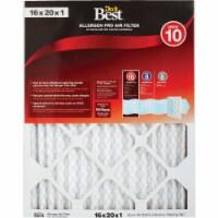 Do it Best 16 In. x 20 In. x 1 In. Allergen Pro MERV 10 Furnace Filter Pack of 6 - 16 In. x 20 In. x 1 In.