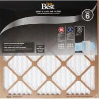 Do it Best 14 In. x 24 In. x 1 In. Dust & Lint MERV 6 Furnace Filter Pack of 12