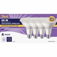 Do it 4pk 90w Par38bw Led Bulb 361998
