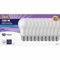 Do it 100W Equivalent Daylight A19 Medium LED Light Bulb (10-Pack) 362061 - 1