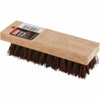 Do it 7-1/4 In. Palmyra Bristle Hardwood Scrub Brush 89615 - 1