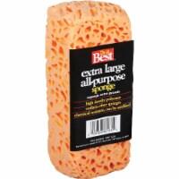 Do it Best 9.25 In. x 3.5 In. Orange Polyester Sponge 622818 - 1