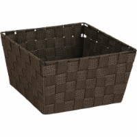 Home Impressions 9.75 In. x 5.5 In. H. Woven Storage Basket, Brown 799494-BR