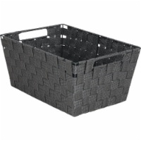 Home Impressions Large Gray Woven Basket 748106-GR