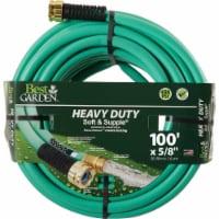 Best Garden 5/8 In. Dia. x 100 Ft. L. Heavy-Duty Soft & Supple Garden Hose - 1