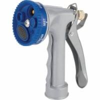Best Garden Metal 5-Pattern Nozzle, Blue & Gray 55108 - 1