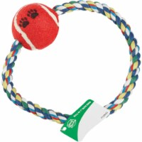 Smart Savers 7 In. Tug Rope Ring Dog Toy CC401029 Pack of 12