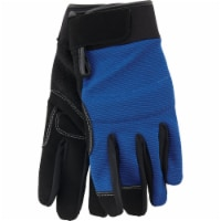 Do it Men's Large Polyester Spandex High Performance Glove with Hook & Loop Cuff - L