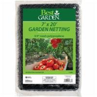Best Garden 3/4 In. Mesh 7 Ft. x 20 Ft. Protective Garden Netting 714891 - 1