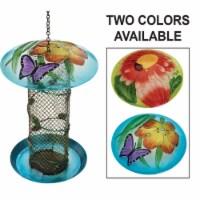 Best Garden Multi-Colored Glass Mesh Tube Bird Feeder 3015800AC - 1