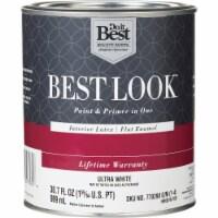 Do it Best Int Flat Ultra Wht Paint HW36W0700-14