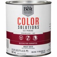 Do it Best Int Flt Bright Wht Paint CS46W0726-44