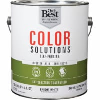 Do it Best Int S/G Bright Wht Paint CS48W0726-16 - 1 Gal.