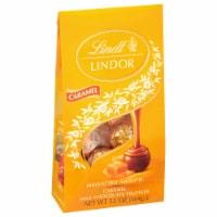 Lindt LINDOR Caramel Milk Chocolate Truffles