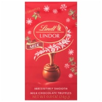 Lindt Lindor Holiday Milk Chocolate Truffles