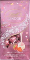 Lindt LINDOR Valentine's Strawberries & Cream Truffles