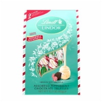 Lindt LINDOR Holiday Assorted Peppermint Chocolate Truffles