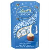 Lindt LINDOR White Milk Chocolate Truffles