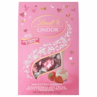 Lindt LINDOR Valentine Strawberries & Cream White Chocolate Truffles