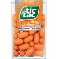 Tic Tac Orange Flavored Mints - 1 oz