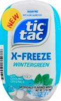 Tic Tac X-Freeze Wintergreen Flavored Mints