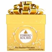 Ferrero Rocher Fine Hazelnut Chocolates 6 Count