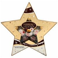 Ferrero Collection Fine Assorted Chocolate Confections Star Gift Box
