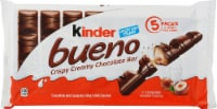 Kinder Bueno Crispy Creamy Chocolate Bar