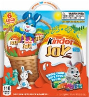 Kinder Joy Treat + Easter Toy Candy Multi-Pack 6 Count