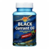 Health From The Sun Black Currant Oil 1000 mg Omega 3-6 Softgels