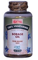 Health From the Sun Vegetarian Borage Oil