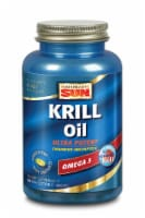 Health From the Sun Krill Oil 500 mg Omega 3 Softgels
