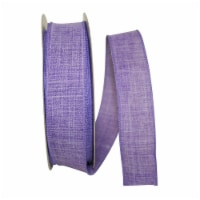 Reliant Ribbon 92573W-064-09K Everyday Linen Value Wired Edge Ribbon - Purple - 1.5 in. x 50 - 1