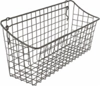 Spectrum Pegboard and Wall Mount Basket - Gray